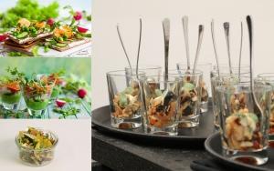 MERZ Catering Vorschlag 4 Flying Büffet Gabelfood