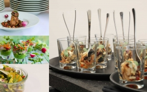 MERZ Catering Flying Büffet Gabelfood